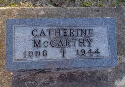 MCCARTHY, CATHERINE - Jackson County, Iowa | CATHERINE MCCARTHY
