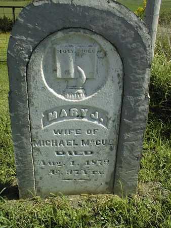 MCCUE, MARY J. - Jackson County, Iowa | MARY J. MCCUE