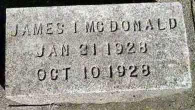 MCDONALD, JAMES I. - Jackson County, Iowa | JAMES I. MCDONALD
