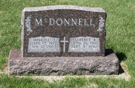 LAMBE MCDONNELL, FLORENCE K. - Jackson County, Iowa | FLORENCE K. LAMBE MCDONNELL