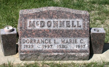 MCDONNELL, MARIE C. - Jackson County, Iowa | MARIE C. MCDONNELL