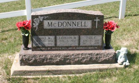 MCDONNELL, PAUL C. - Jackson County, Iowa | PAUL C. MCDONNELL