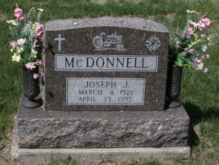 MCDONNELL, JOSEPH J. - Jackson County, Iowa   JOSEPH J. MCDONNELL