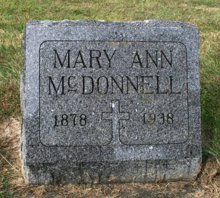 MCDONNELL, MARY ANN - Jackson County, Iowa | MARY ANN MCDONNELL