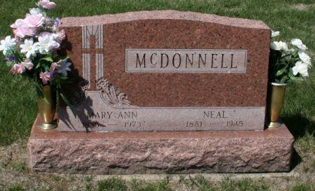 MCDONNELL, MARY ANN - Jackson County, Iowa | MARY ANN MCDONNELL