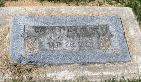 MCDONNELL, MOSES F. - Jackson County, Iowa | MOSES F. MCDONNELL