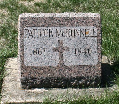 MCDONNELL, PATRICK - Jackson County, Iowa   PATRICK MCDONNELL