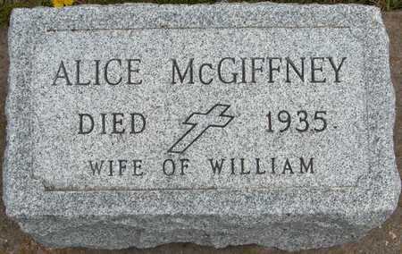 MCGIFFNEY, ALICE - Jackson County, Iowa | ALICE MCGIFFNEY