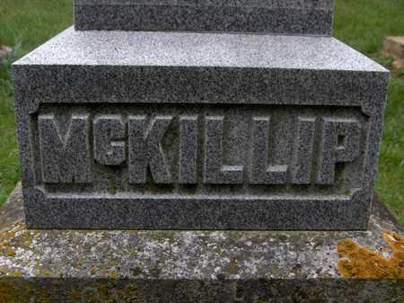 MCKILLIP, FAMILY MONUMENT - Jackson County, Iowa | FAMILY MONUMENT MCKILLIP