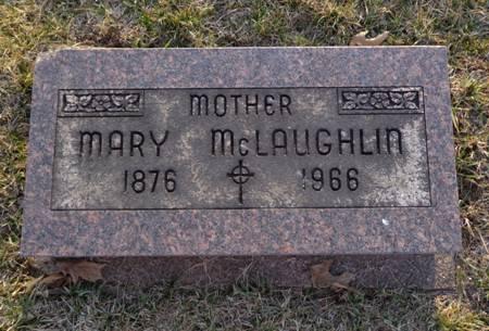 MCLAUGHLIN, MARY - Jackson County, Iowa   MARY MCLAUGHLIN