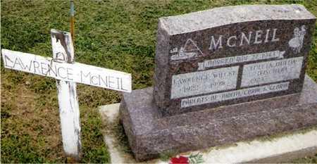 MCNEIL, LAWRENCE WILCKE - Jackson County, Iowa | LAWRENCE WILCKE MCNEIL