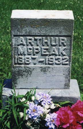 MCPEAK, ARTHUR - Jackson County, Iowa | ARTHUR MCPEAK