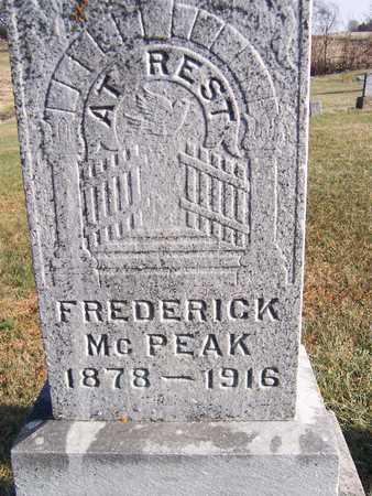 MCPEAK, FREDERICK - Jackson County, Iowa | FREDERICK MCPEAK