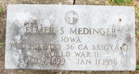 MEDINGER, ELMER S. - Jackson County, Iowa   ELMER S. MEDINGER