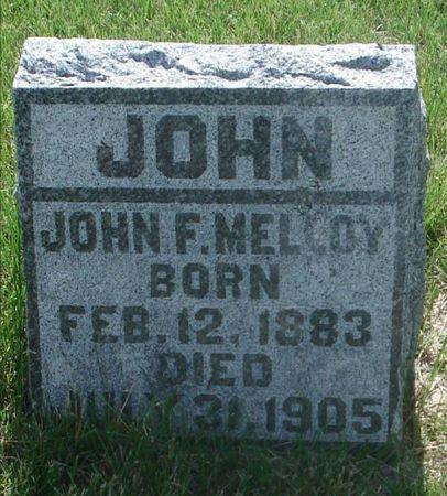MELLOY, JOHN F. - Jackson County, Iowa   JOHN F. MELLOY