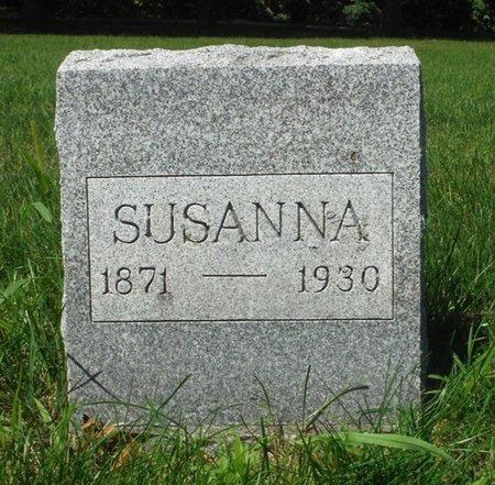 MELLOY, MISS SUSANNA - Jackson County, Iowa | MISS SUSANNA MELLOY