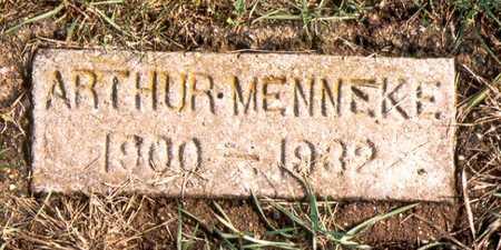 MENNEKE, ARTHUR MERRILL - Jackson County, Iowa | ARTHUR MERRILL MENNEKE