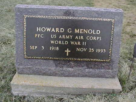 MENOLD, HOWARD C. - Jackson County, Iowa | HOWARD C. MENOLD