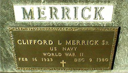 MERRICK, CLIFFORD L.,SR. - Jackson County, Iowa | CLIFFORD L.,SR. MERRICK