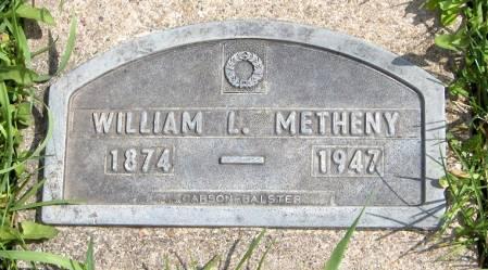 METHENY, WILLIAM L. - Jackson County, Iowa | WILLIAM L. METHENY
