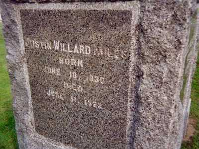 MILES, JUSTIN WILLARD - Jackson County, Iowa   JUSTIN WILLARD MILES