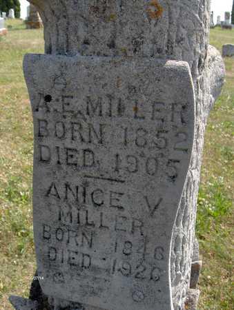 MILLER, ANICE V. - Jackson County, Iowa | ANICE V. MILLER
