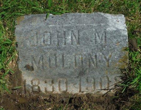MOLONY, JOHN M. - Jackson County, Iowa   JOHN M. MOLONY