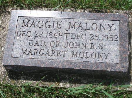 MOLONY, MAGGIE - Jackson County, Iowa   MAGGIE MOLONY