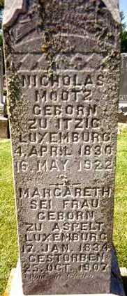MOOTZ, MARGARETH - Jackson County, Iowa | MARGARETH MOOTZ