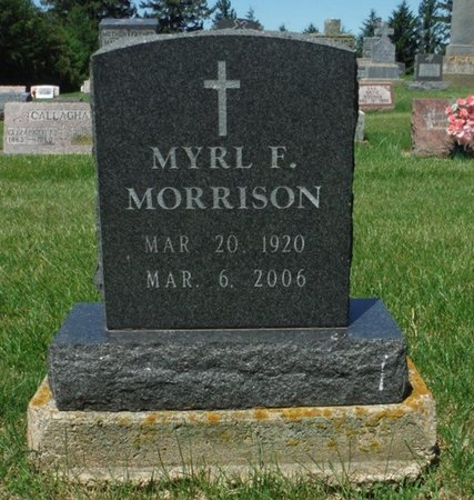 MORRISON, MYRL F. - Jackson County, Iowa | MYRL F. MORRISON