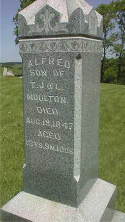 MOULTON, ALFRED - Jackson County, Iowa | ALFRED MOULTON