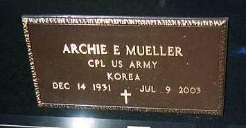 MUELLER, ARCHIE E. - Jackson County, Iowa | ARCHIE E. MUELLER