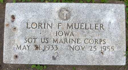MUELLER, LORIN F. - Jackson County, Iowa | LORIN F. MUELLER
