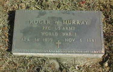 MURRAY, ROGER W. - Jackson County, Iowa   ROGER W. MURRAY