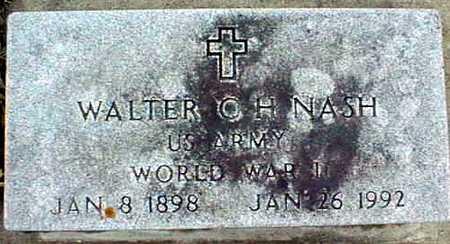 NASH, WALTER O.H. - Jackson County, Iowa | WALTER O.H. NASH