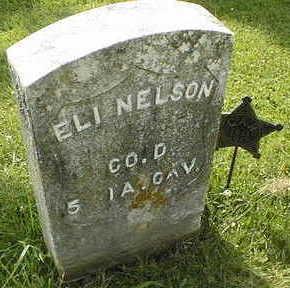 NELSON, ELI - Jackson County, Iowa   ELI NELSON