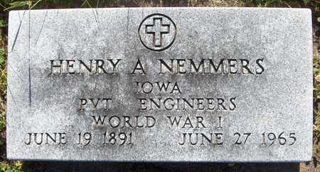 NEMMERS, HENRY A. - Jackson County, Iowa | HENRY A. NEMMERS