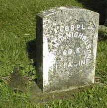 NICHOLSON, CORP. JOHN T. - Jackson County, Iowa   CORP. JOHN T. NICHOLSON