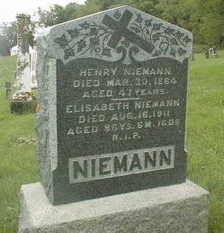 NIEMANN, HENRY - Jackson County, Iowa   HENRY NIEMANN