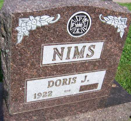 NIMS, DORIS J. - Jackson County, Iowa | DORIS J. NIMS