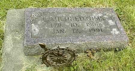 NIMS, L.MILDRED - Jackson County, Iowa | L.MILDRED NIMS
