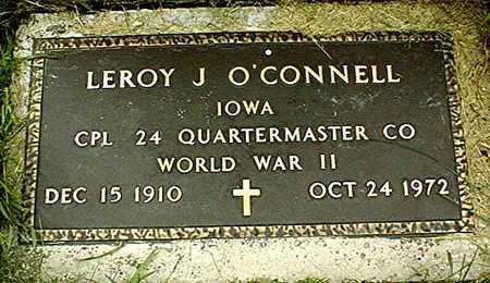 O'CONNELL, LEROY J. - Jackson County, Iowa | LEROY J. O'CONNELL