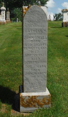 MINNIS O'MARA, CATHERN - Jackson County, Iowa | CATHERN MINNIS O'MARA