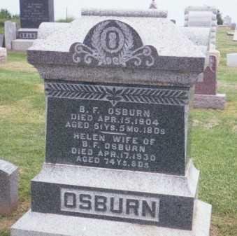 OSBURN, B.F. - Jackson County, Iowa | B.F. OSBURN