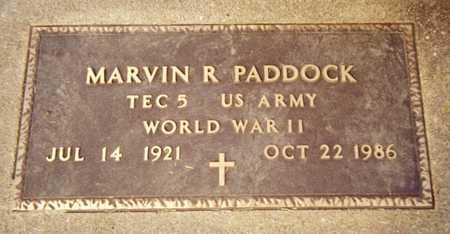 PADDOCK, MARVIN R. - Jackson County, Iowa   MARVIN R. PADDOCK