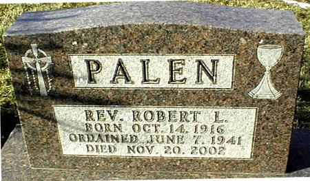 PALEN, REV. ROBERT L. - Jackson County, Iowa | REV. ROBERT L. PALEN