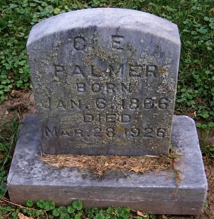 PALMER, C.E. - Jackson County, Iowa | C.E. PALMER