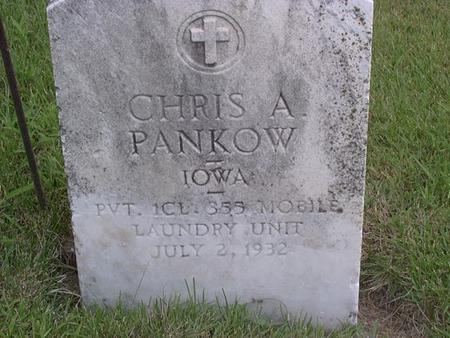 PANKOW, CHRIS. A. - Jackson County, Iowa | CHRIS. A. PANKOW