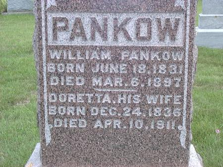 PANKOW, WILLIAM - Jackson County, Iowa | WILLIAM PANKOW