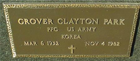 PARK, GROVER CLAYTON - Jackson County, Iowa | GROVER CLAYTON PARK